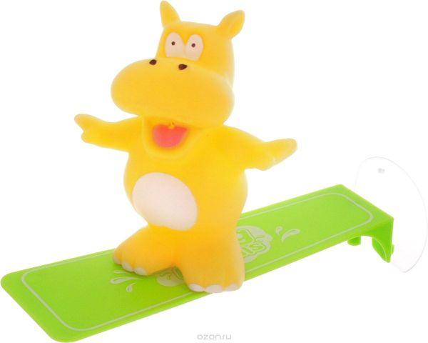 ABtoys Игрушка для ванной Игрушка-брызгалка Бегемот