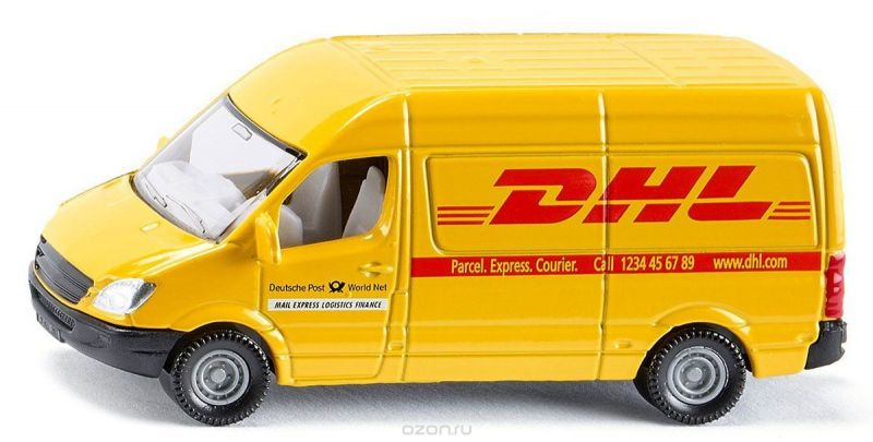 Siku Почтовый фургон DHL