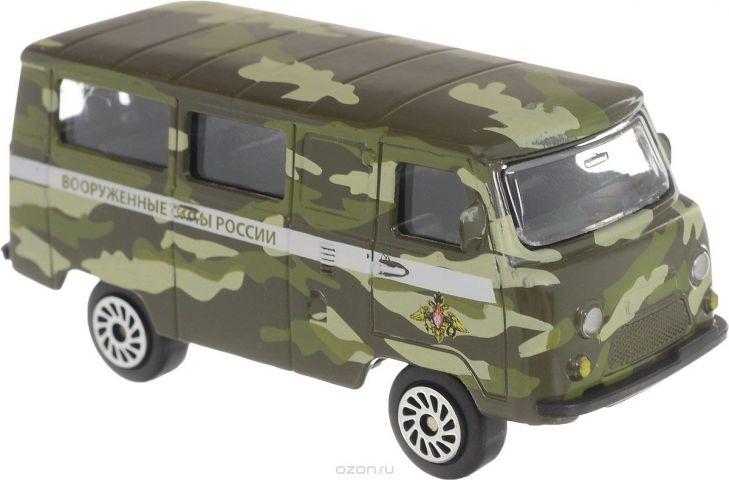 ТехноПарк Автомобиль УАЗ 39625 Вооруженные силы России цвет хаки вид 2