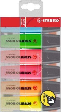 Stabilo Набор маркеров Boss Original 6 цветов