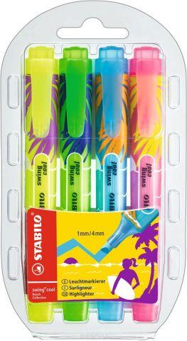 Stabilo Набор маркеров Swing Cool Beach 4 цвета