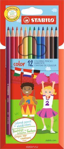 Stabilo Набор цветных карандашей Color 12 цветов 1912/77-11