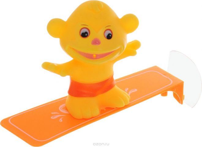 ABtoys Игрушка для ванной Игрушка-брызгалка Обезьянка