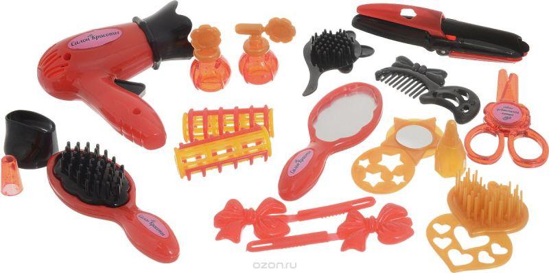 ABtoys Игровой набор Салон красоты 17 предметов