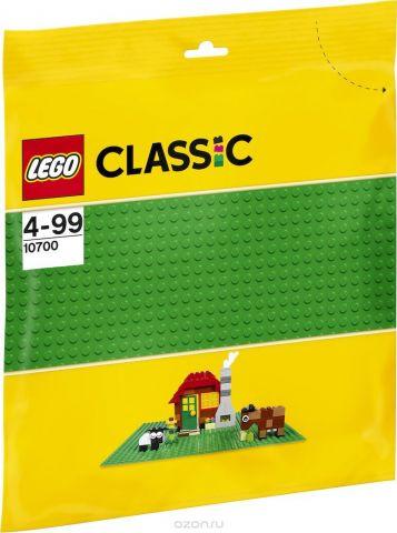 LEGO Classic Строительная пластина 32х32 выступа цвет зеленый 10700