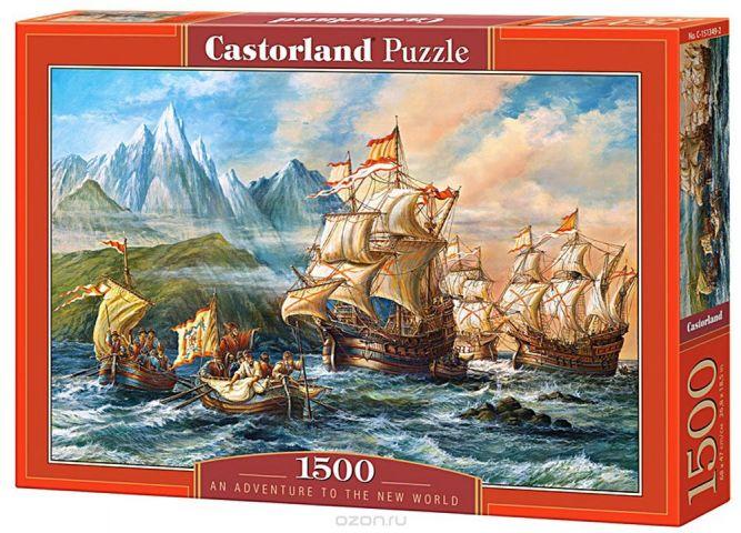 Castorland Пазл Приключения в Новом Свете