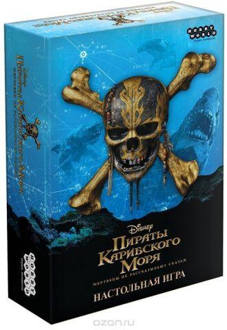 Hobby World Настольная игра Пираты Карибского моря Мертвецы не рассказывают сказки