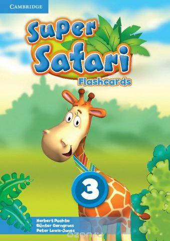 Super Safari Level 3 Flashcards (Pack of 78)