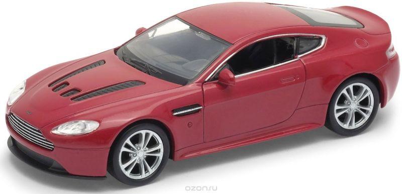 Welly Модель автомобиля Aston Martin V12 Vantage цвет красный