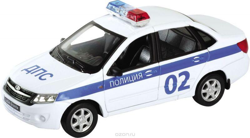 Welly Модель автомобиля LADA Granta Полиция