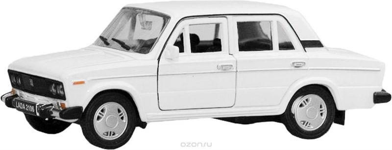 Welly Модель автомобиля LADA 2106 цвет белый