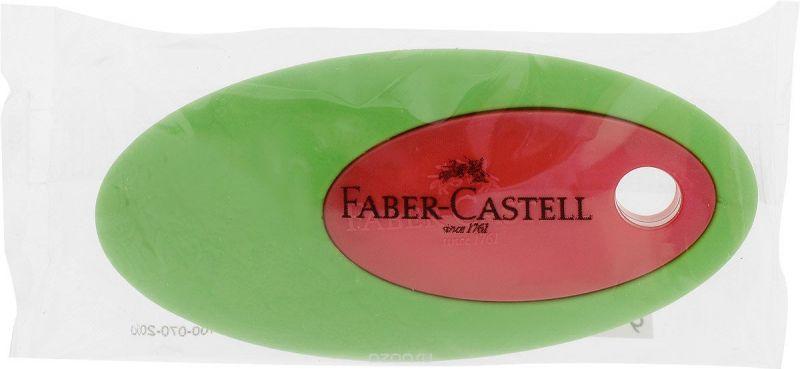Faber-Castell Ластик цвет зеленый красный