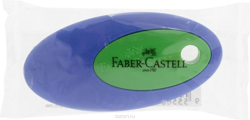 Faber-Castell Ластик цвет синий зеленый