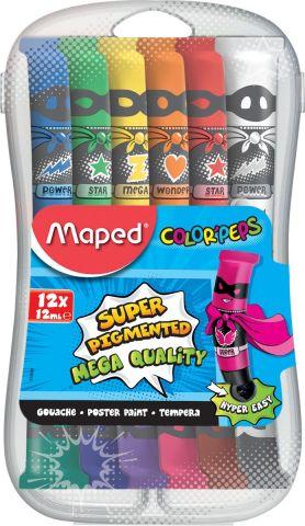 Maped Гуашь Colorpep'S 12 цветов 810520