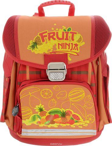 Action! Ранец школьный Fruit Ninja цвет красный оранжевый