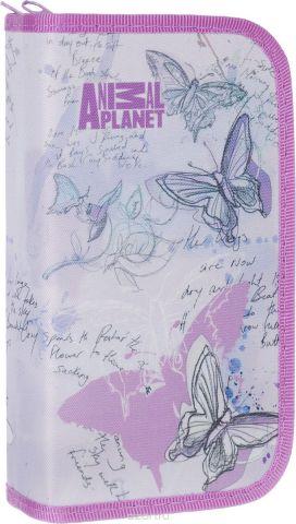 Action! Пенал Animal Planet цвет сиреневый AP-APC4227/2