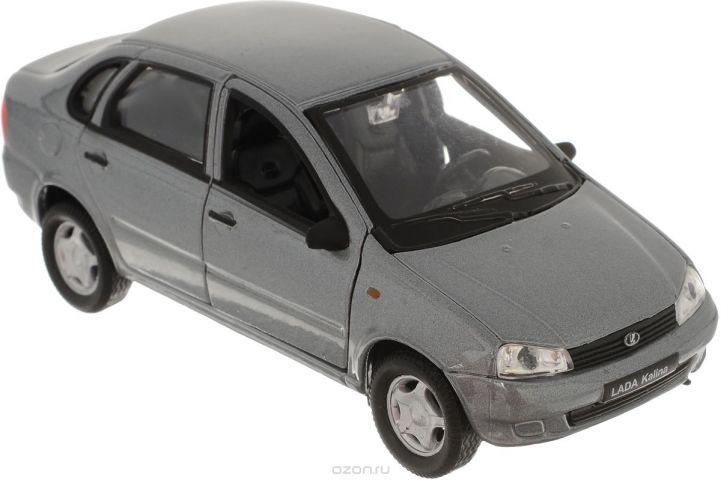 Welly Модель автомобиля LADA Kalina цвет серый