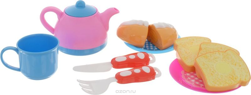 ABtoys Игрушечный набор Моя кухня 12 предметов