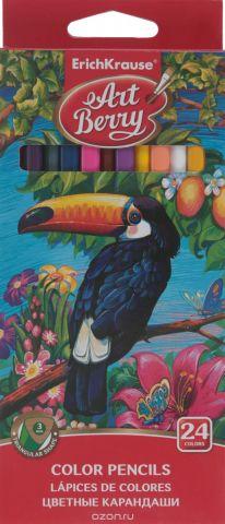 Erich Krause Цветные карандаши, 24 цвета