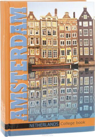 Бриз Колледж-тетрадь Амстердам 160 листов в клетку