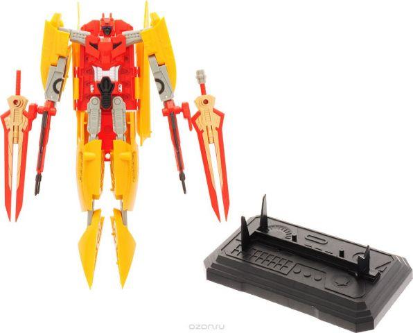 Склад уникальных товаров Робот-трансформер Авианосец XL цвет красный желтый