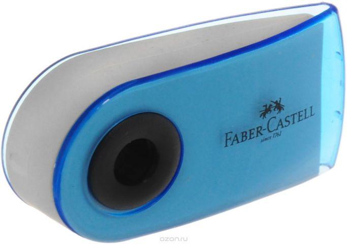 Faber-Castell Ластик Sleeve Mini цвет голубой