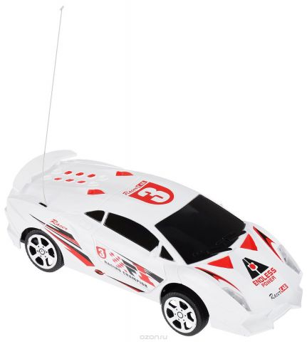 Yako Машинка на радиоуправлении цвет белый Y395018