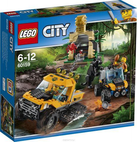LEGO City Jungle Explorer Конструктор Миссия Исследование джунглей 60159