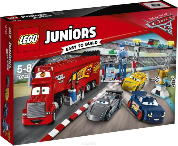 LEGO Juniors Конструктор Финальная гонка Флорида 500 10745
