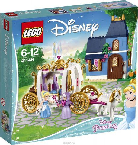 LEGO Disney Princess Конструктор Сказочный вечер Золушки 41146