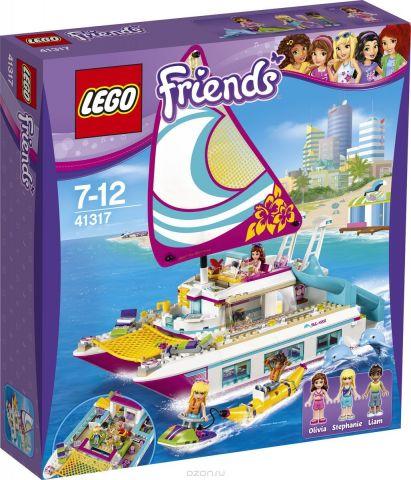 LEGO Friends Конструктор Катамаран Саншайн 41317