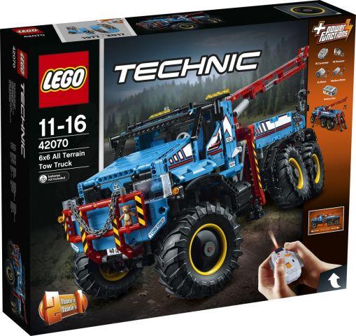 LEGO Technic Конструктор Аварийный внедорожник 6х6 42070