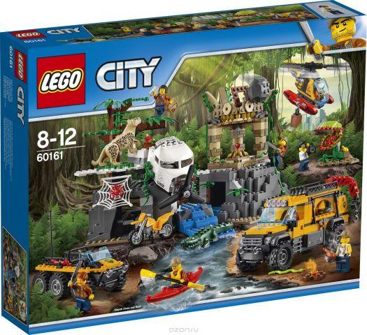 LEGO City Jungle Explorer Конструктор База исследователей джунглей 60161