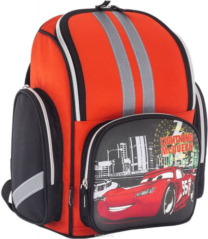 Cars Ранец школьный профилактический CREB-MT1-203