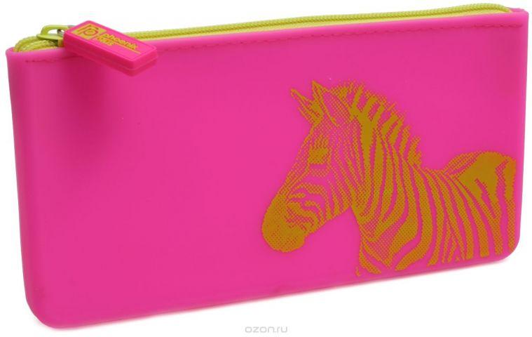 Феникс+ Пенал Зебра цвет розовый