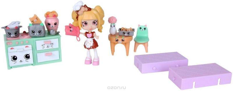 Shopkins Игровой набор Новоселье Кухня с котятами