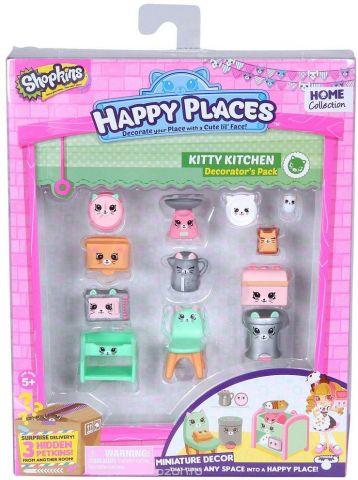 Shopkins Набор фигурок Happy Places Кухня Китти