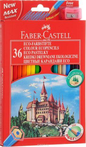 Faber-Castell Набор цветных карандашей Замок с точилкой 36 цветов