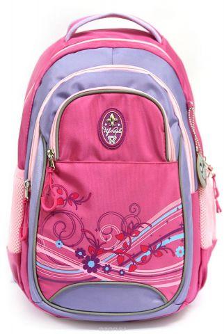 Рюкзак детский UFO people цвет розовый 7634