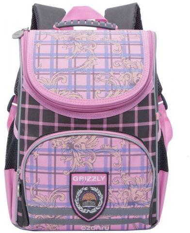 Grizzly Ранец школьный цвет розовый RA-773-1/2
