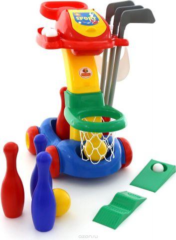 Полесье Игровой набор №1 Баскетбол Гольф Кегли