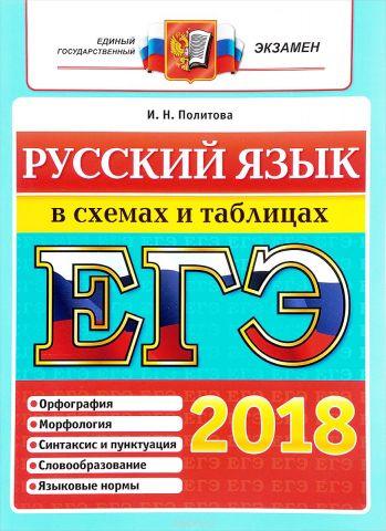 ЕГЭ 2018. Русский язык. В схемах и таблицах