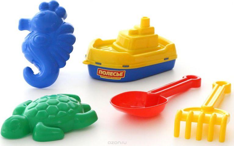 Полесье Набор игрушек для песочницы №370