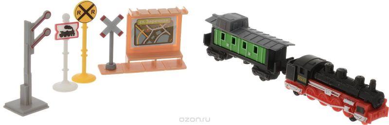 ТехноПарк Игровой набор Железнодорожная станция