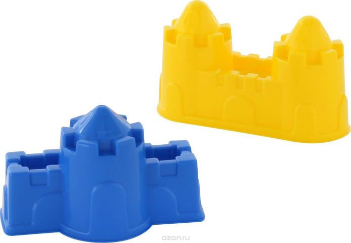 Полесье Игрушка для песочницы Формочки Замок 2 шт 57495