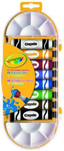 Crayola Краска темперная 8 цветов