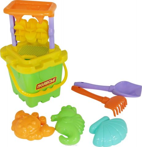 Полесье Набор игрушек для песочницы №283