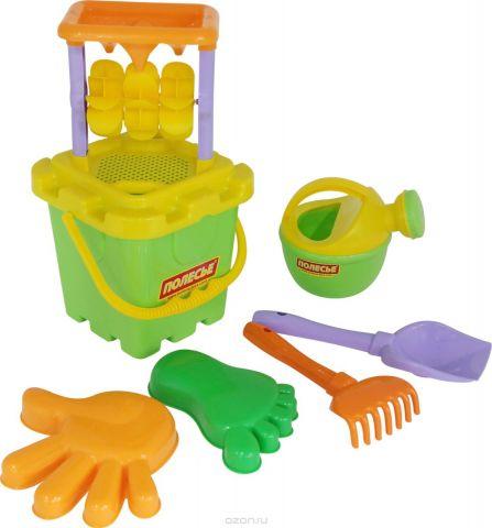 Полесье Набор игрушек для песочницы №286