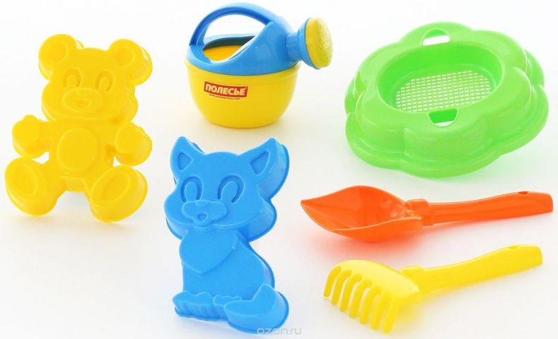Полесье Набор игрушек для песочницы №293
