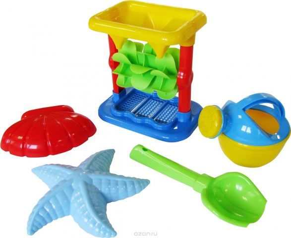 Полесье Набор игрушек для песочницы №343
